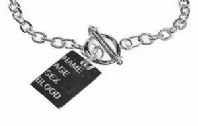 Dog tag necklace (Code 0598)
